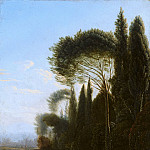 Jan Willemsz Lapp - Italianate Landscape, Mauritshuis
