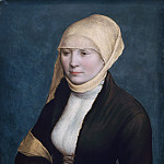 Workshop of Hans Holbein the Younger - Portrait of a Woman, Mauritshuis