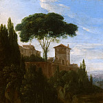 Jan Willemsz Lapp - Italianate Landscape with Buildings, Mauritshuis