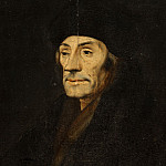 Unknown - Portrait of Desiderius Erasmus , Mauritshuis