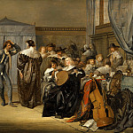 Pieter Codde – Merry Company with Masked Dancers, Mauritshuis