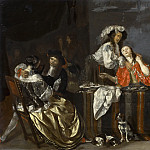 Anonymous - Merry Company, Mauritshuis