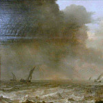 Pieter Mulier the Younger - Choppy Sea, Mauritshuis