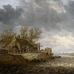 Jan van Goyen - View of Dordrecht from Papendrecht, Mauritshuis