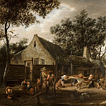 Jan Steen - Dancing Peasants at an Inn, Mauritshuis