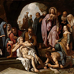 Pieter Lastman - The Raising of Lazarus, Mauritshuis