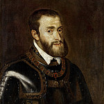 Mauritshuis - Titian (after) - Portrait of Emperor Charles V (1500-1558)