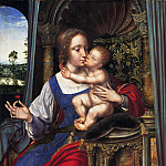 Mauritshuis - Quinten Massys (and/or studio) - Madonna and Child