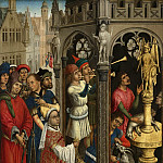 Mauritshuis - Rogier van der Weyden (follower of) - St Augustine Sacrificing to a Manichaean Idol (?)