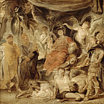 Peter Paul Rubens - The Triumph of Rome: The Youthful Emperor Constantine Honouring Rome, Mauritshuis