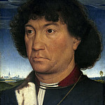 Portrait of a Man from the Lespinette Family, Hans Memling