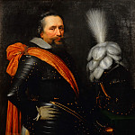 Jan Anthonisz van Ravesteyn - Portrait of an Officer, presumably Anthonis van Utenhoven , Mauritshuis