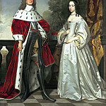Gerrit van Honthorst - Double Portrait of Friedrich Wilhelm I and Louise Henriette , Mauritshuis