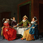 Hendrick Pot - Merry Company in a Brothel, Mauritshuis
