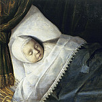Anonymous - A Child of the Honigh Family on its Deathbed, Mauritshuis