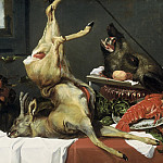 Mauritshuis - Frans Snijders (studio of) - Still Life with a Dead Stag