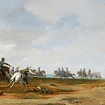 Mauritshuis - Pieter Post - Cavalry Engagement