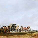 Mauritshuis - Pieter Post - Ambushing an Army Convoy