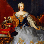 Mauritshuis - Martin Meytens the Youger (studio of) - Portrait of Maria Theresa (1717-1780)