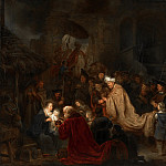 Salomon Koninck - The Adoration of the Magi, Mauritshuis