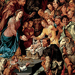 Maerten van Heemskerck - The Adoration of the Shepherds, Mauritshuis