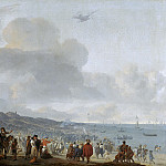 Mauritshuis - Johannes Lingelbach - The Departure of Charles II (1630-1685) from Scheveningen, 2 June 1660