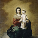 Bartolomé Esteban Murillo - Madonna and Child, Mauritshuis