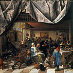 Jan Steen - The Life of Man, Mauritshuis