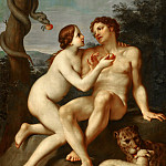 Marcantonio Franceschini - Adam and Eve, Mauritshuis