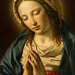 Mauritshuis - Sassoferrato (after) - The Virgin in Prayer