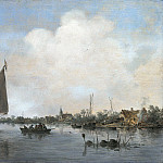 Jan van Goyen - River View, Mauritshuis