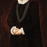 Anonymous - Portrait of Françoise de Witte , Mauritshuis
