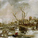 Winter Landscape, van de Jan Capelle