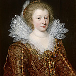 Jan Anthonisz van Ravesteyn - Portrait of Catharina Belgica , Mauritshuis
