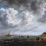 Jacob van Ruisdael - Beach View, Mauritshuis