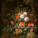 Abraham Mignon - Flowers and fruits, Mauritshuis