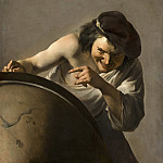 Johannes Moreelse - Democritus, the Laughing Philosopher, Mauritshuis