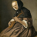 Jan Steen - Woman Playing the Cittern, Mauritshuis