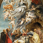 Mauritshuis - Peter Paul Rubens - 'Modello' for the Assumption of the Virgin