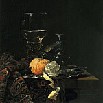 Willem Kalf - Still Llife with a Roemer, Mauritshuis