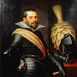 Mauritshuis - Jan Anthonisz van Ravesteyn (and studio) - Portrait of an Officer, possibly Gaspard de Coligny (1584-1646)