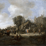 Jan Steen - Village Fair, Mauritshuis