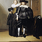 Pieter Codde - Portrait of a Betrothed Couple, Mauritshuis