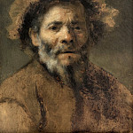 Mauritshuis - Rembrandt van Rijn (circle of) - Study of an Old Man