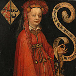 Mauritshuis - Anonymous (Northern Netherlands) - Portrait of Lysbeth van Duvenvoorde (d. 1472)