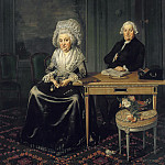Wybrand Hendriks - Portrait of Jacob Feitama and his Wife, Elisabeth de Haan , Mauritshuis