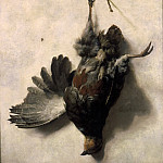 Mauritshuis - Jan Baptist Weenix - Dead Partridge Hanging from a Nail