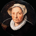 Pieter Pietersz - Portrait of a Woman, Mauritshuis