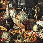 Mauritshuis - Joachim Beuckelaer - Kitchen Scene with Christ at Emmaus