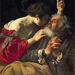Hendrick ter Brugghen - The Liberation of Peter, Mauritshuis